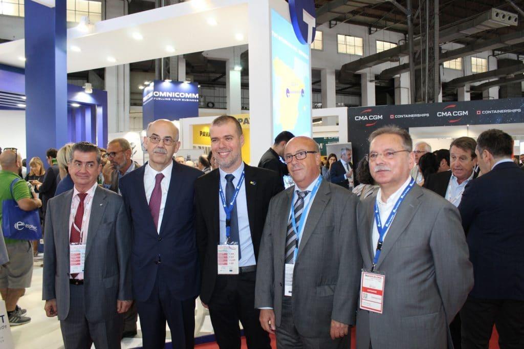 IMG 0508 1024x682 - El puerto de Tarragona  promociona su potencial logístico en el SIL
