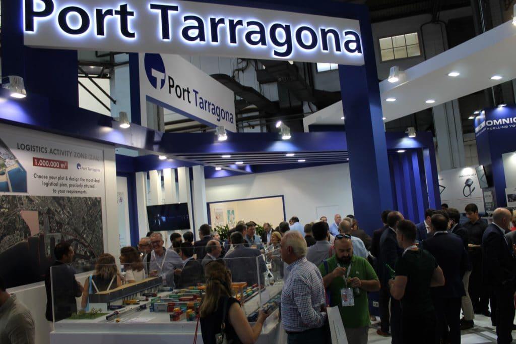 IMG 0511 1024x682 - El puerto de Tarragona  promociona su potencial logístico en el SIL