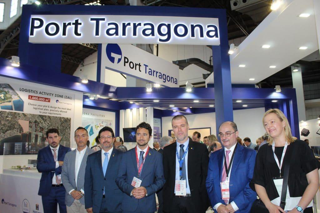 IMG 0542 1024x682 - El puerto de Tarragona  promociona su potencial logístico en el SIL