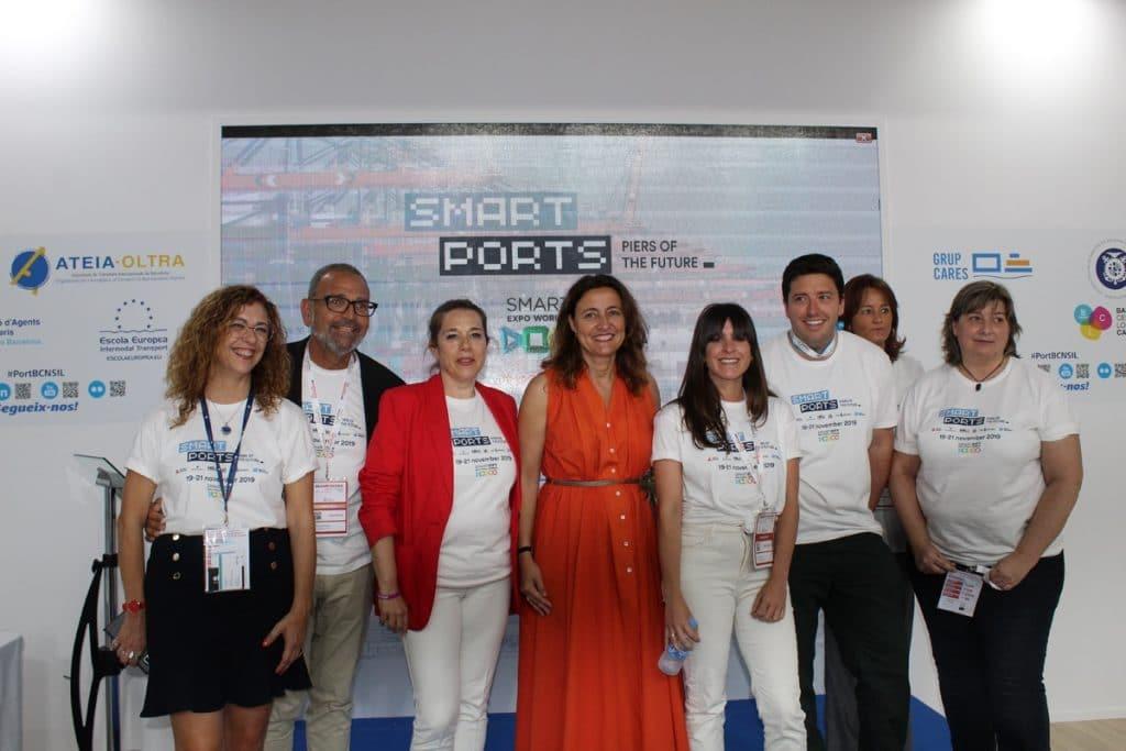 IMG 0702 1024x683 - El puerto de Barcelona liderará la revolución smart port