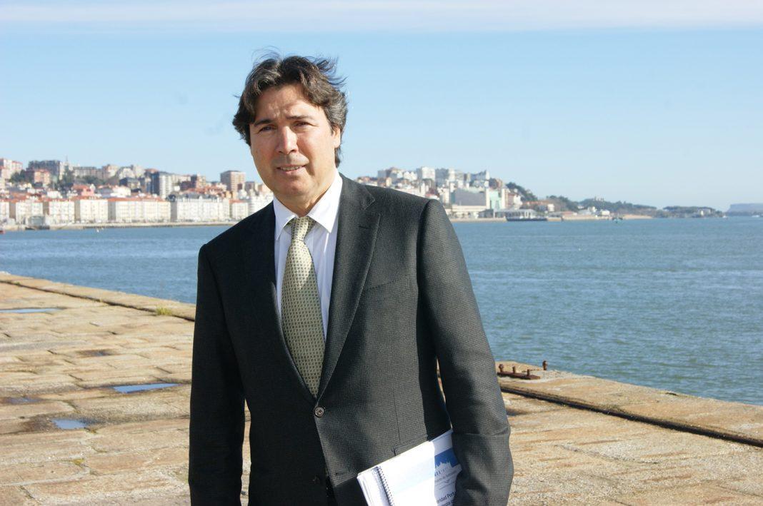 Jaime Gonzalez, presidente de la Autoridad Portuaria de Santander