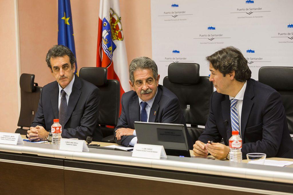 Francisco Martín, Miguel Ángel Revilla y Jaime González