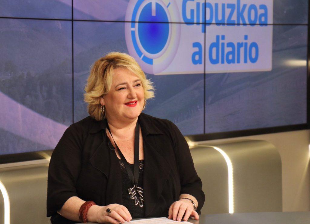 Aintzane Oiarbide, Diputada foral Infraestructuras Viarias Gipuzkoa