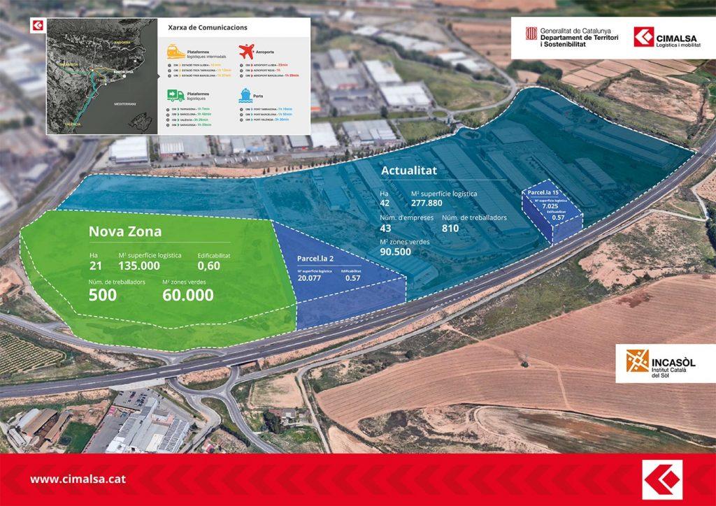 Cimalsa ampliacion min 1024x724 - CIM Lleida ampliará un 50% su superficie