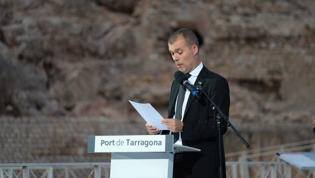Jose Maria Cruset, presidente del puerto de Tarragona