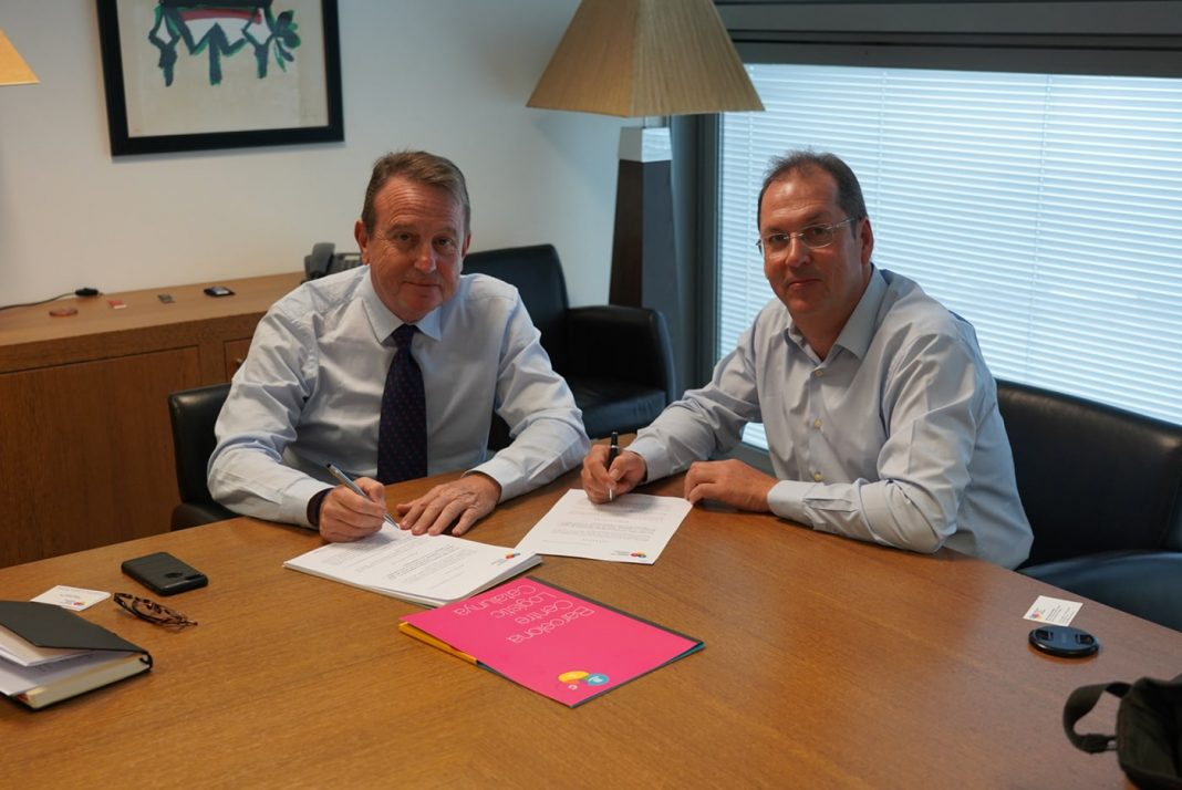 Santiago Bassols, director general de BCL, y Enric Usach, director general de Usach Cd'A
