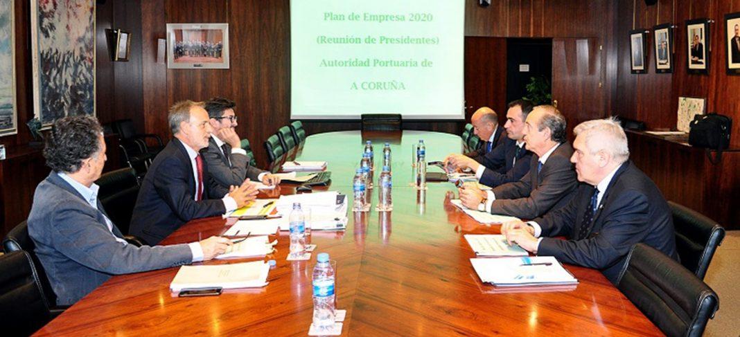 Reunión en Madrid entre Puertos del Estado y la Autoridad Portuaria de A Coruña