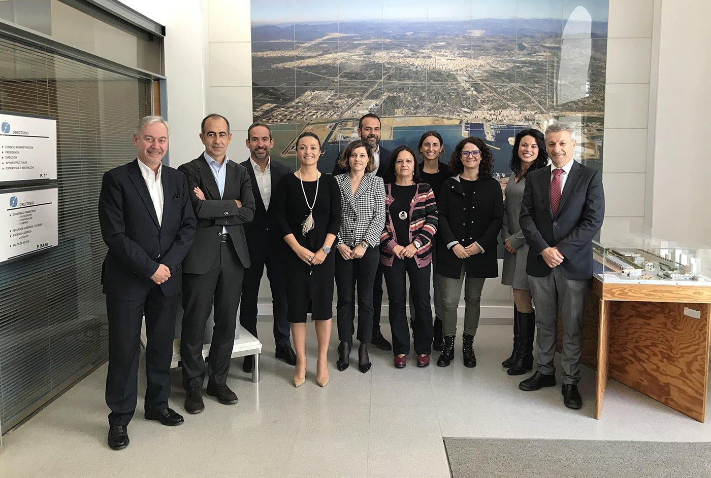 El puerto de Castellón acoge una reunión del CMI del sistema portuario - El Canal Marítimo y Logístico