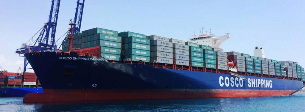 Cosco min 1024x377 - Vasco Shipping inicia nuevo servicio al Mediterráneo y Mar Negro