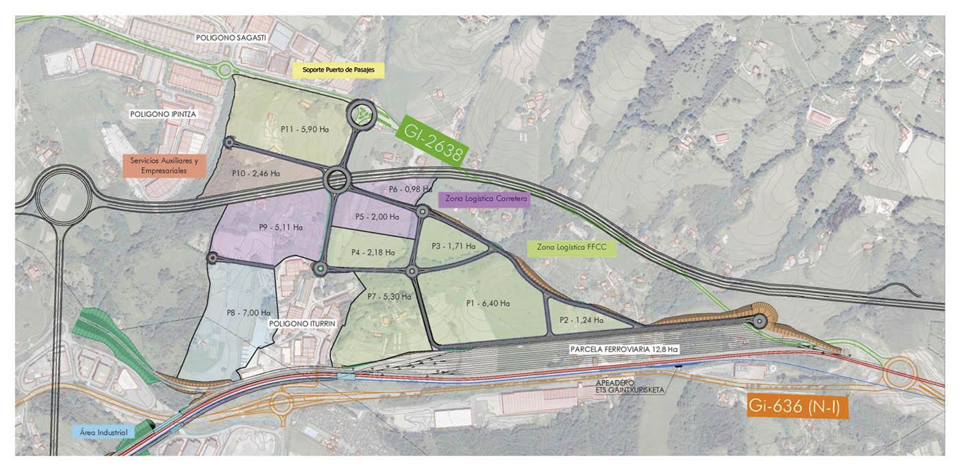 La intermodal de Lezo, un paso más para el desarrollo del puerto de Pasaia - El Canal Marítimo y Logístico