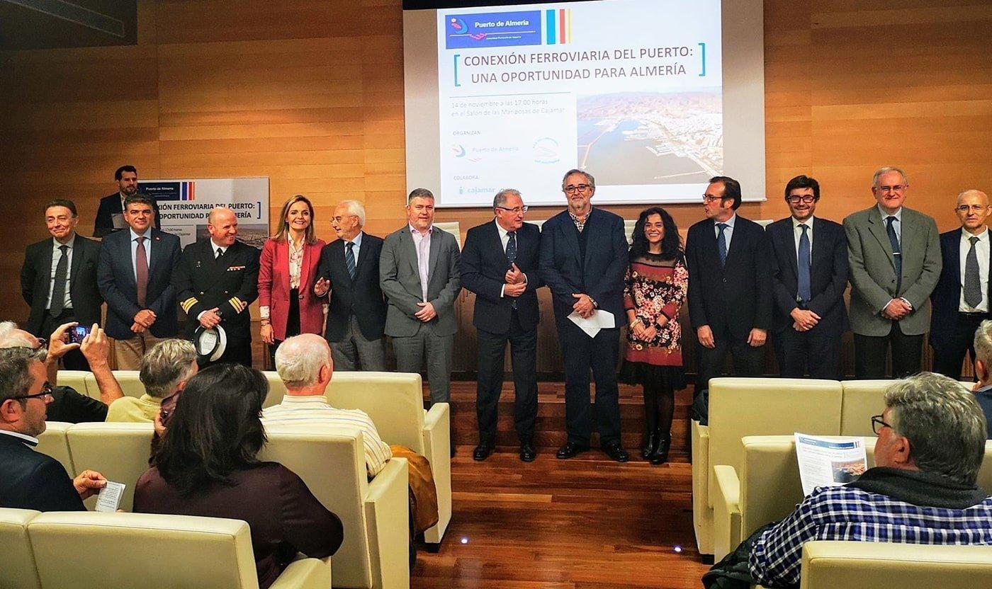 La conexión ferroviaria, una gran oportunidad para el puerto de Almería - El Canal Marítimo y Logístico