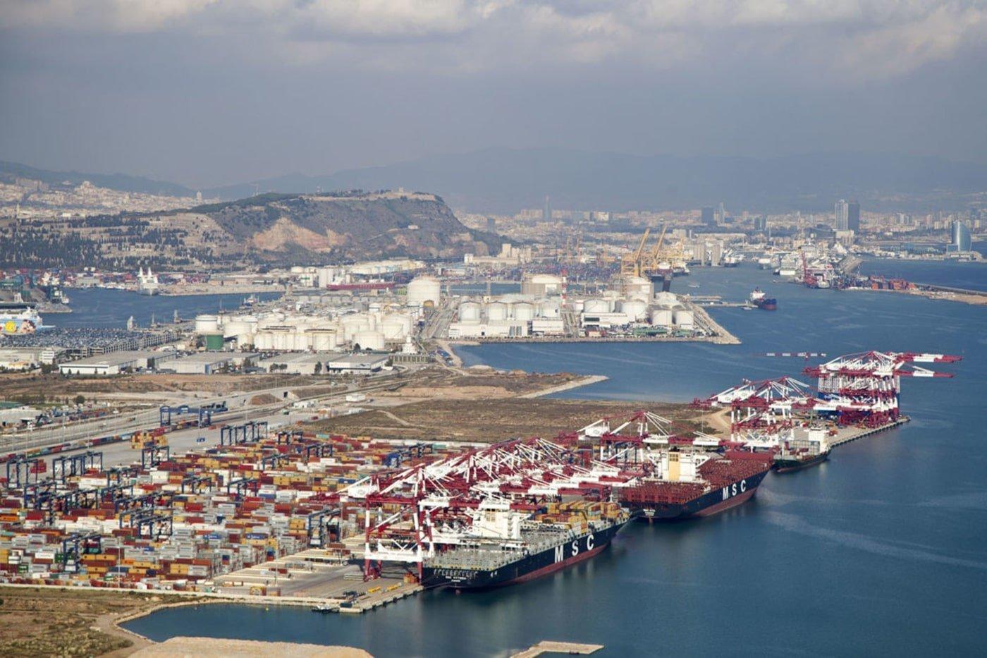 El puerto de Barcelona registra 57,6 millones de toneladas - El Canal Marítimo y Logístico
