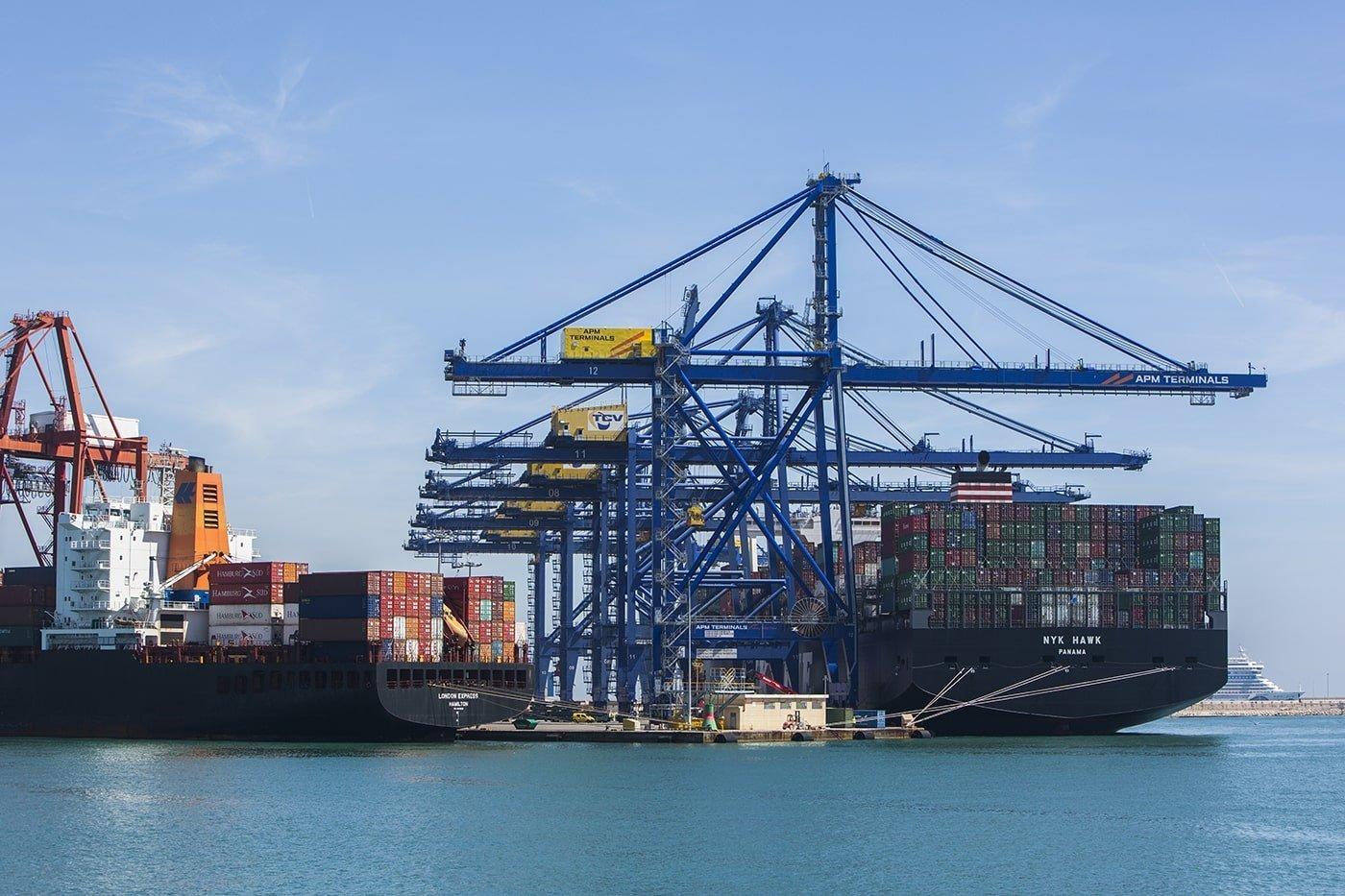 El tráfico de contenedores del puerto de Valencia crece un 7,3% - El Canal Marítimo y Logístico