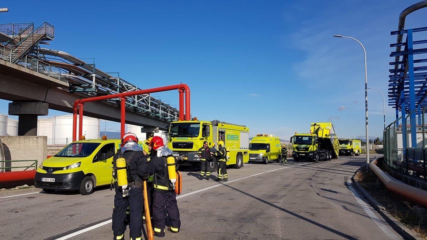 Ejercicio de emergencia en el puerto de Tarragona - El Canal Marítimo y Logístico