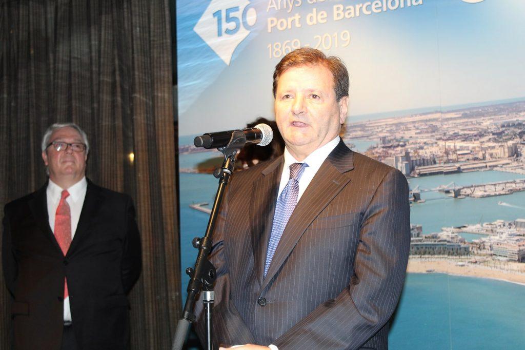 comunidad portuaria barcelona2 min 1024x682 - Mercè Conesa alienta a la comunidad portuaria de Barcelona a persistir ante la complejidad de la globalización