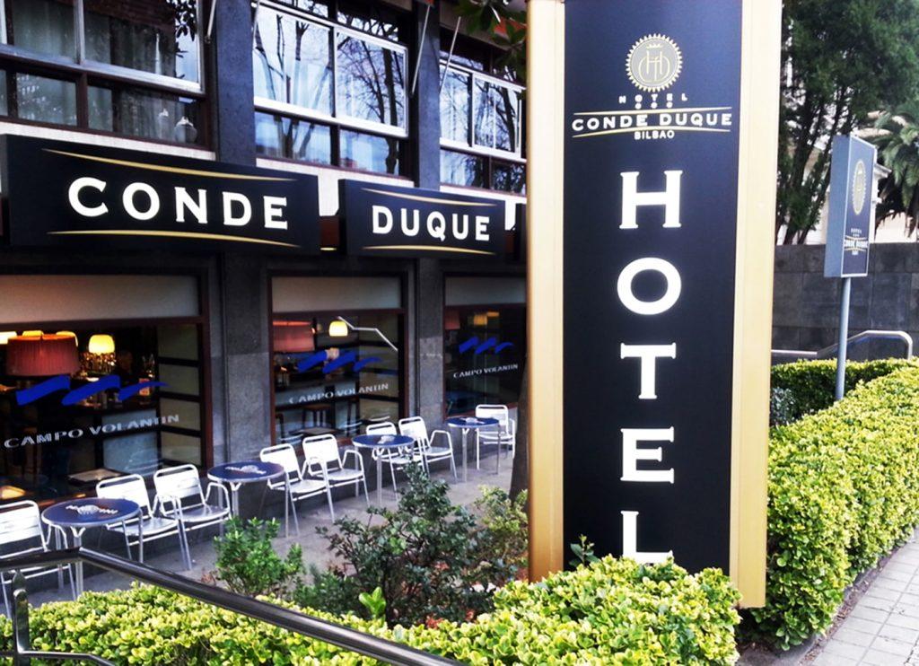 conde duque bilbao hotel entrada min 1024x742 - APRABI celebra hoy una jornada sobre Incoterms