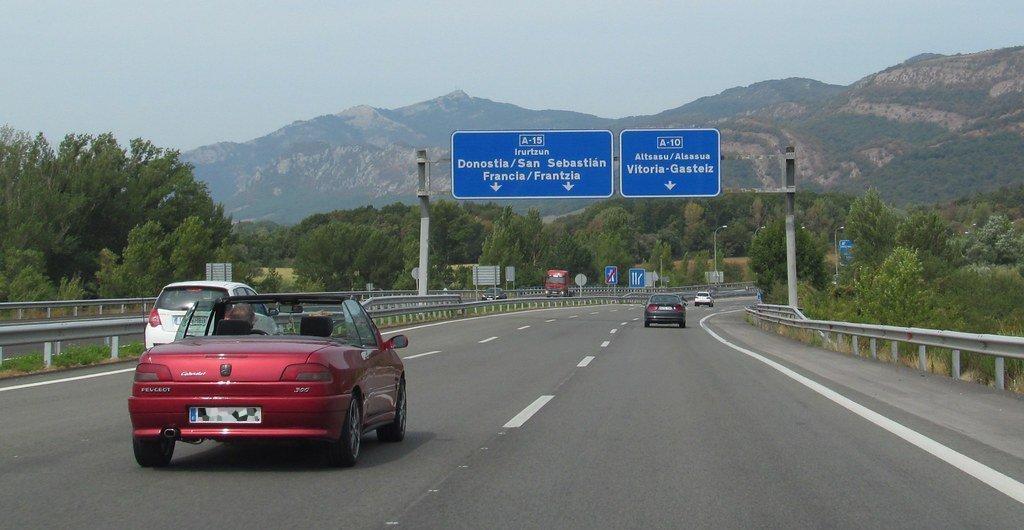 A 15 Navarra - Navarra da vía libre a los peajes para camiones en 5 vías