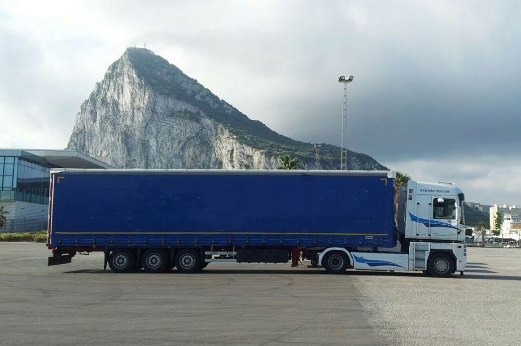 transporte por carretera con Gibraltar