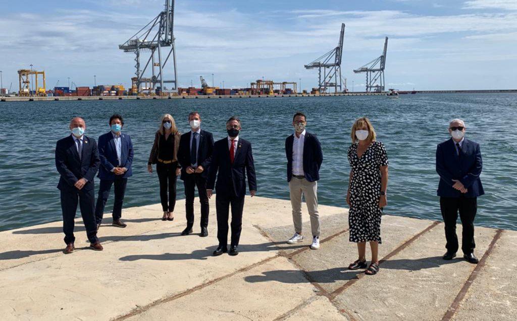 puerto de tarragona2 1024x636 - El Departament d'Empresa de la Generalitat colaborará en la comercialización de la ZAL del puerto de Tarragona