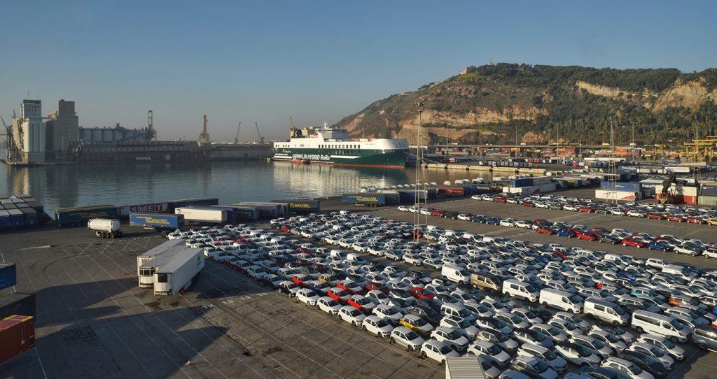 """Eco Valencia Grimaldi Group Teminal Barcelona min 1024x542 - El buque más """"Green"""" de Grimaldi empieza a operar entre Italia y España"""