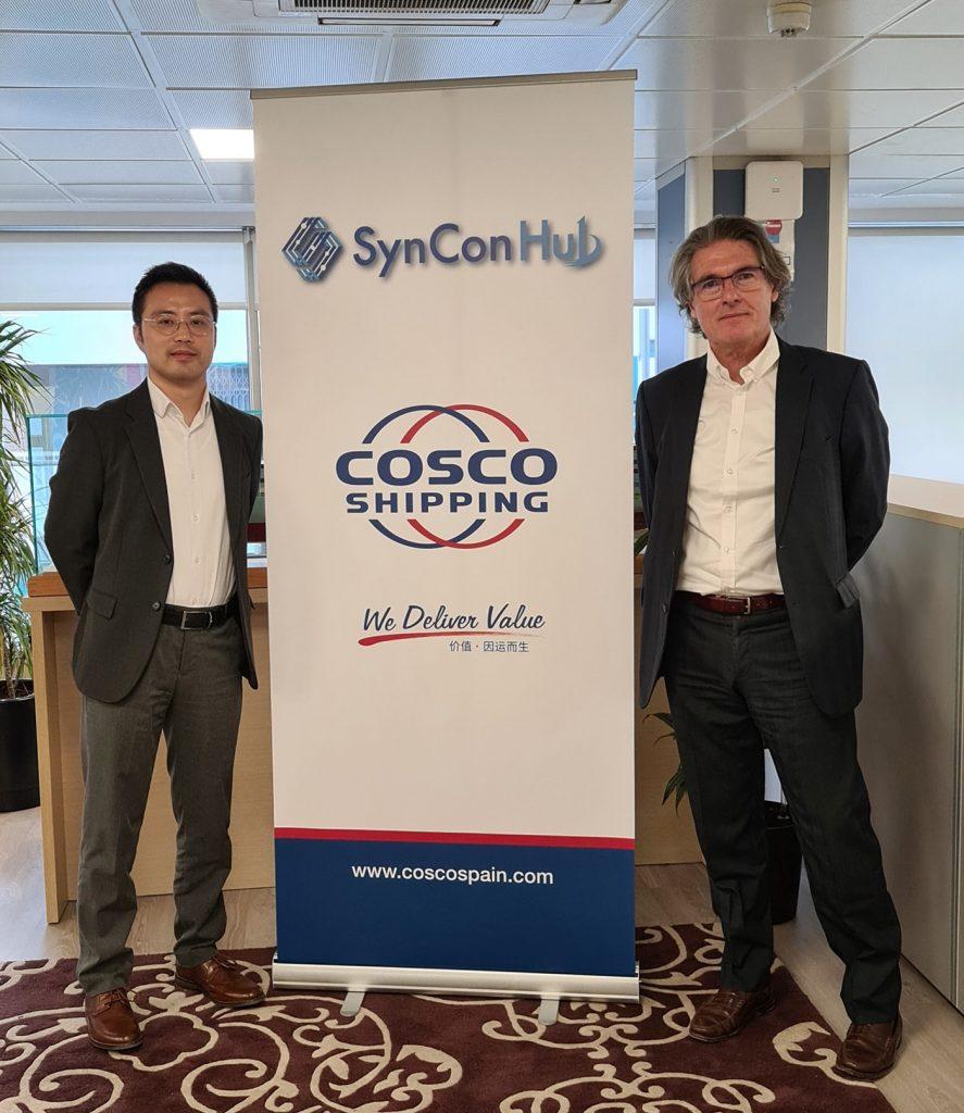 cosco2 min 887x1024 - Cosco Shipping Lines lanza la plataforma SynCon Hub para clientes en España