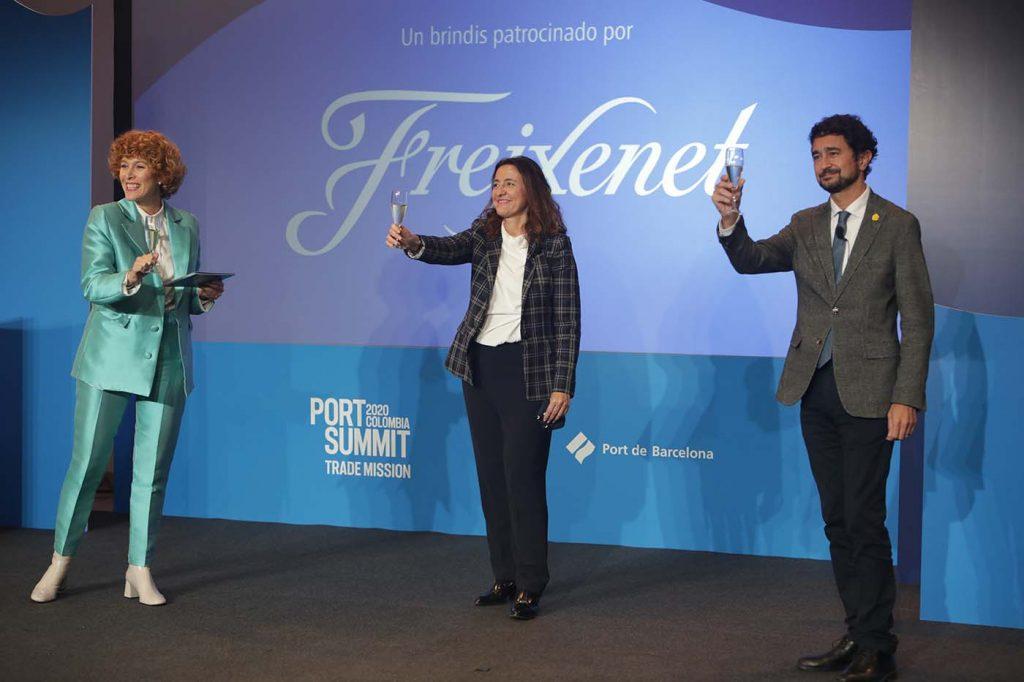 mision1 1024x682 - El Port Summit Trade Mission supera la pandemia y afianza la alianza entre el puerto de Barcelona y Colombia