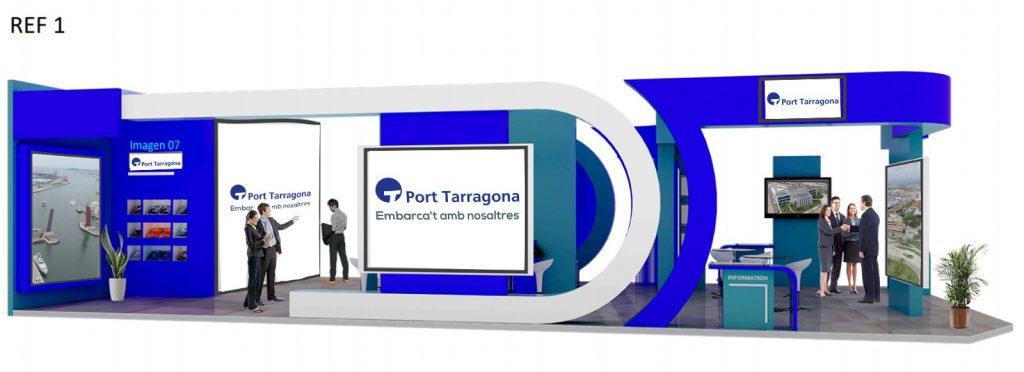 Fira ocupacio2 1024x372 - El puerto Tarragona colabora con la búsqueda de ocupación