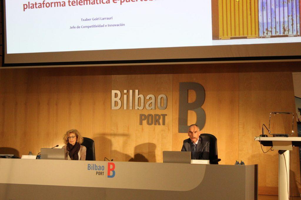 IMG 1226 min 1024x683 - El puerto de Bilbao muestra su preparación ante el Brexit