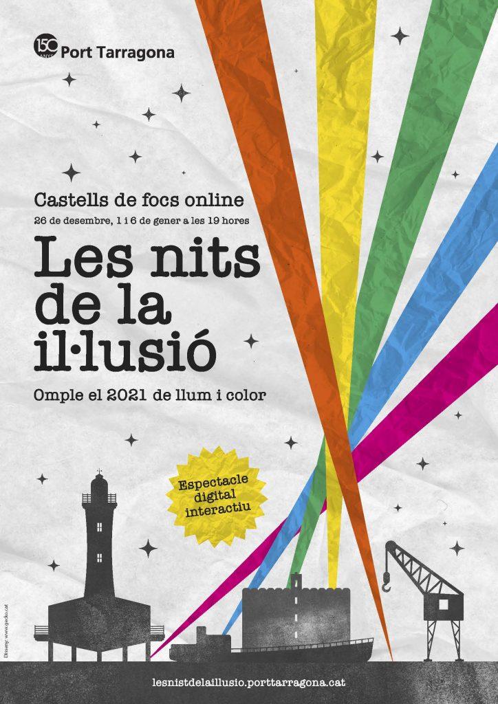 """navidad tarragona2 724x1024 - El puerto de Tarragona hace brillar la Navidad en la ciudad con """"Les Nits de la il.lusió"""""""