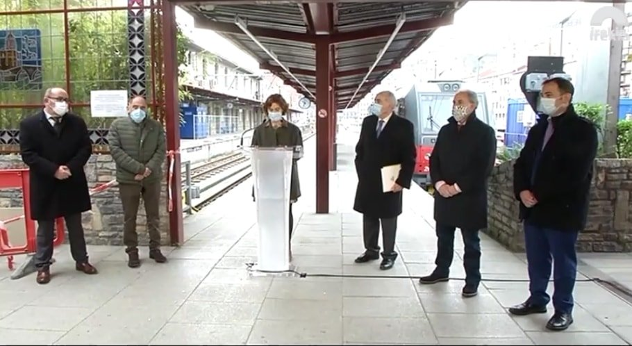 tranvia atxuri min - Nuevo impulso al tranvía de Bilbao y Vitoria-Gasteiz