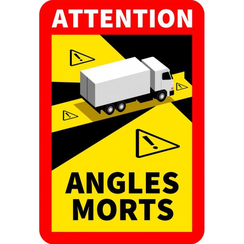 Angles Morts - Nueva señalización obligatoria de ángulos muertos para camiones
