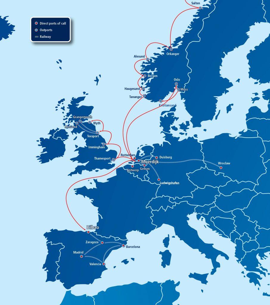 wec2 - Nuevo servicio de WEC Lines entre Bilbao y Europa-Reino Unido