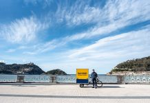 Dachser normaliza las entregas con bicicletas eléctricas en San Sebastián
