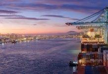 Los contenedores y el tráfico total del puerto de Algeciras empiezan el año en descenso