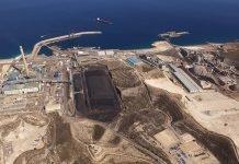 El carbón resurge el tráfico del puerto de Almería