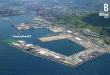 Luz verde a la ampliación del muelle AZ-1 del puerto de Bilbao