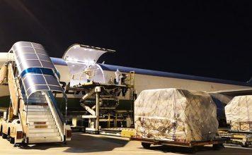 Decoexsa fleta un avión para transporte de material sanitario