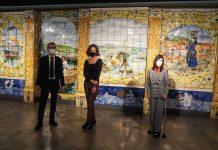 Itsasmuseum suma un mural cerámico a su colección permanente