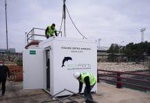 El puerto de Valencia instala dos cabinas de control ambiental para analizar la calidad del aire